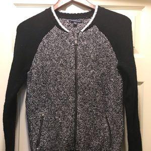 Cute zip up sweater